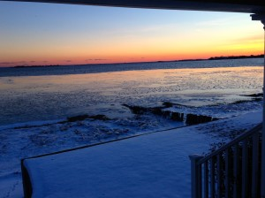 Baby it's Cold Out There…But Westport, CT's Beauty never Fades